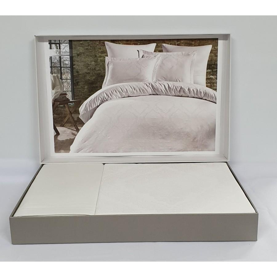 Постільна білизна Dantela сатин-жакард 200x220 Louisa Beyaz