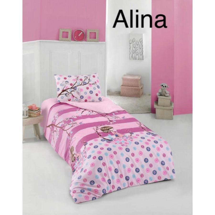 Постільна білизна Altinbasak ранфорс 160x220 Alina
