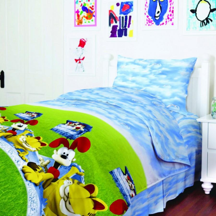 Комплект постільної білизни ТЕП підлітковий 950 Гарфілд, 50x70