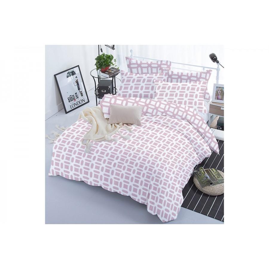 Комплект постільної білизни ТЕП двоспальний 330 Lilac Love, 70x70
