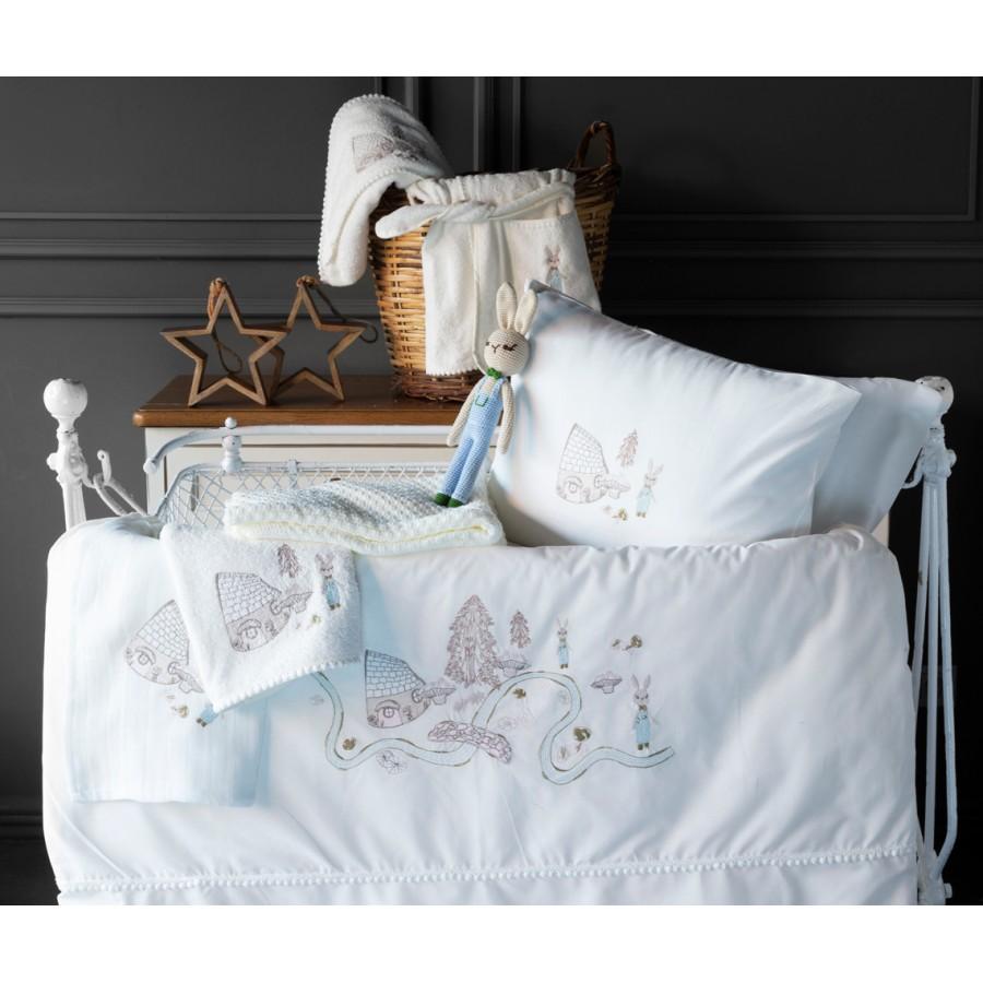 Дитяча постільна білизна в ліжечко набір Toffee Pupilla Collection Ecru