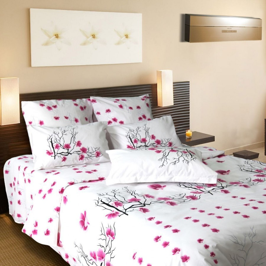 Комплект постільної білизни ТЕП двоспальний 907 Сакура, 70x70