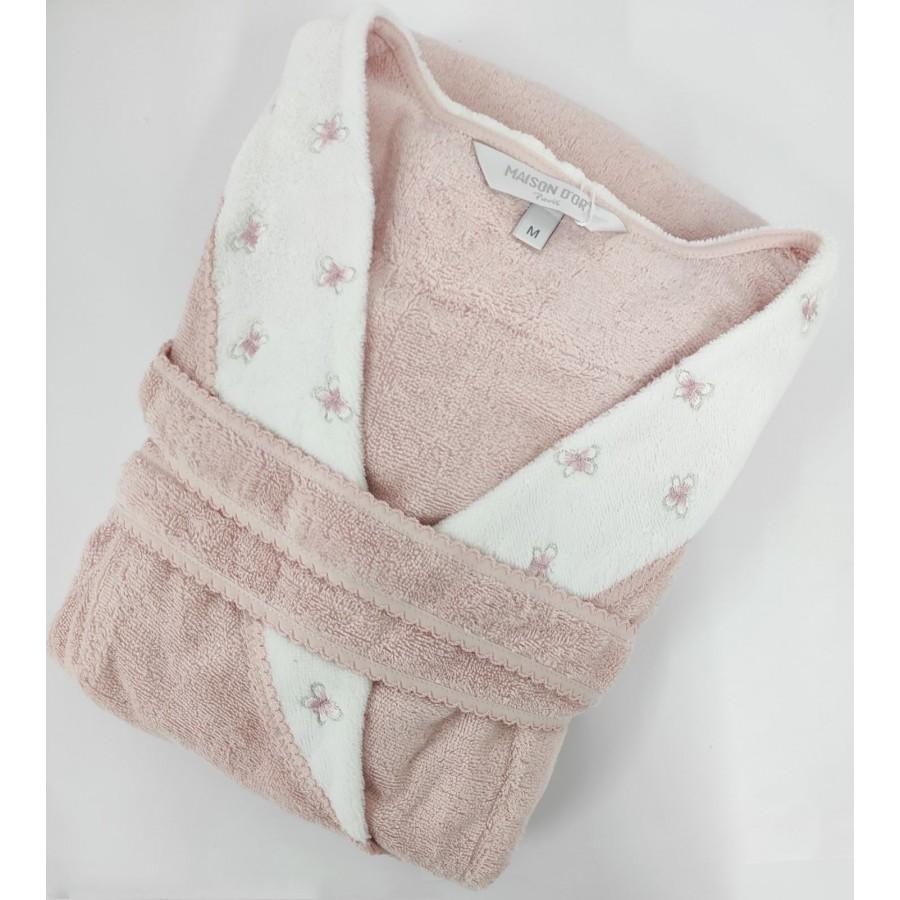 Халат жіночий Maison D'or Lavoine Butterfly Rose Color S