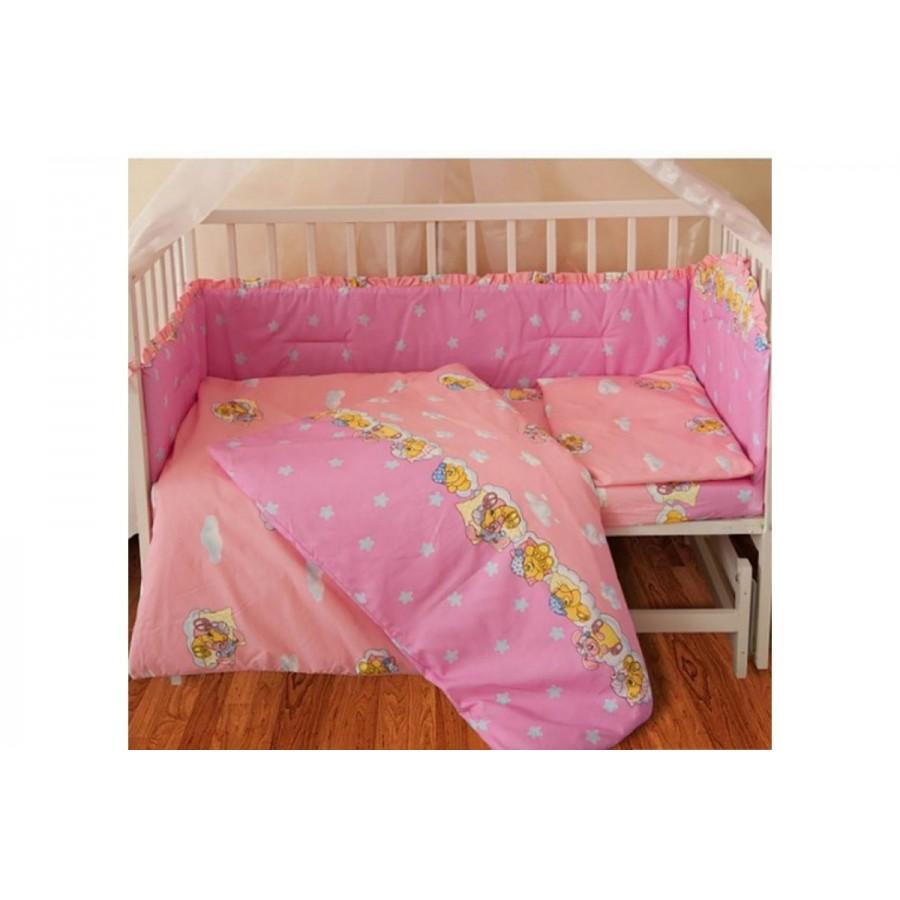 Комплект постільної білизни ТЕП дитячий (260 Ведмідь рожевий)