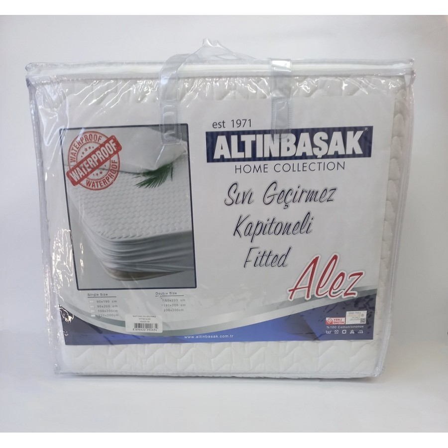 Водонепроникний наматрацник-чохол Altinbasak 160x200 cм
